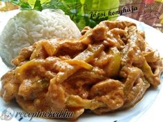 Érdekel a receptje? Kattints a képre! Pork Recipes, Cooking Recipes, Hungarian Recipes, Pork Dishes, Sweet And Salty, Carne, Bacon, Food And Drink, Favorite Recipes
