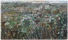 Anselm Kiefer, le dormeur du val, 2014, Galerie Thaddaeus Ropac Contemporary Abstract Art, Abstract Landscape, Modern Art, Anselm Kiefer, Monochromatic Drawing, Equine Art, Mixed Media Canvas, Land Art, Art Fair
