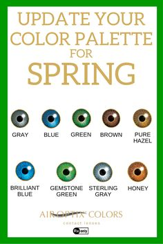 What new color are you envisioning for yourself this spring? Try out our 9 different colors using the AIR OPTIX® COLORS Color Studio App. #LiveinColor Don't forget! You need to have a prescription to wear AIR OPTIX® COLORS contact lenses. Don't sleep in these lenses, and don't share them with your friends. Ask your eye doctor for complete wear, care and safety information.