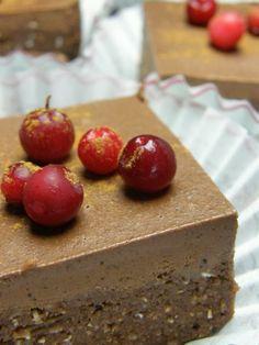 Veikeä Verso: BanaaniSuklaaLeivokset raakana Cherry, Health Fitness, Pudding, Fruit, Desserts, Bananas, Food, Sweet, Kitchen