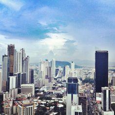 Ciudad de Panamá || Photo from the Instacanvas gallery for paolamarissa.