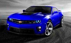 2012 Chevrolet Camaro ZL1 Blue Color