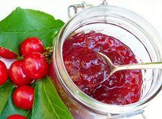 Cseresznye-meggy lekvár - Kifőztük, online gasztromagazin Fruit Soup, Sour Cherry, Bakery, Pudding, Vegetables, Sweet, Food, Mint, Candy