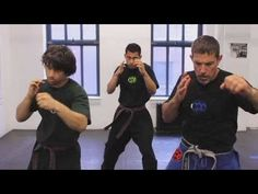 Krav Maga Techniques: Straight Punch Combination