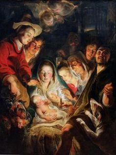 Adoration of the Shepherds Artwork by Jacob Jordaens