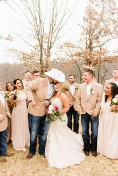 country wedding 24 Ideas Boots And Jeans Party Country Weddings wedding outfit 24 Id Country Wedding Groomsmen, Country Wedding Photos, Country Weddings, Country Groom Attire, Country Wedding Outfits, Western Groomsmen, Rustic Groomsmen Attire, Blush Pink Bridesmaids, Wedding Bridesmaids