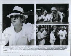 1989 Press Photo - Barry Levinson & Robin Williams in Good Morning Vietnam