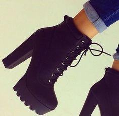 High Heel Boots For Fall boots high heels black boots winter boots heel boots black black heels black shoes shoes classy Black Heel Boots, Black High Heels, Shoe Boots, Combat Boots Heels, Shoes Heels Black, Women's Boots, Cute Shoes Boots, Ankle Boot Heels, Bootie Heels