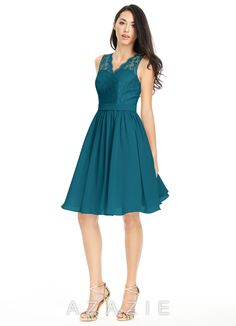 Shop Azazie Bridesmaid Dress - Cierra in Chiffon. Find the perfect made-to-order bridesmaid dresses for your bridal party in your favorite color, style and fabric at Azazie.