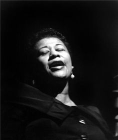 Ella Fitzgerald, Paris, France, 1958    There are no words for her amazing-ness.