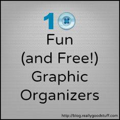 10 Fun and Free Graphic Organizers