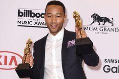 John Legend, winner of Top Radio Song for