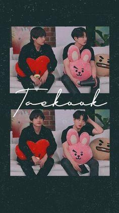 ❤️ Helloo V and Jk are so precious keep them and love them plss hehe. I really love this two also their whole squaa called BTS! Jungkook Jimin, Bts Taehyung, Bts Bangtan Boy, Foto Bts, Vkook Memes, V Bts Wallpaper, Vkook Fanart, Bts Backgrounds, Bts Chibi