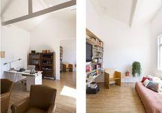Apto. Joaquim : Soggiorno minimalista di RSRG Arquitetos