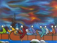 An original piece of artwork by Manitoulin Island artist Leland Bell. Native American Artwork, Native American Artists, Canadian Artists, Manitoulin Island, Bell Art, At Risk Youth, Indigenous Art, Native Art, First Nations