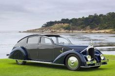 Pebble Beach Concours d'Elegance Best of Show 2011, 1934 Voisin C-25 Aerodyne