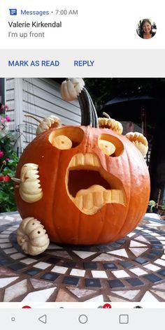 Pumpkin gross