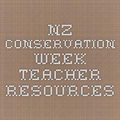 NZ Conservation Week Teacher Resources