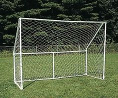 diy soccer goal - Google Search