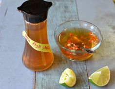 Vegetarian fish sauce recipe! Seriously. It's a fun, easy experiment. It taste alright too.