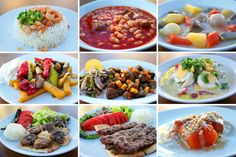 Delicious Turkish foods detected.