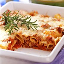 weight watchers beef ziti
