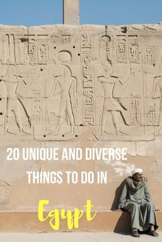 20 unique and diverse things to do in Egypt