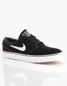 63c586ef2c Nike SB Zoom Stefan Janoski Skate Shoes - Black White - RouteOne.co.uk