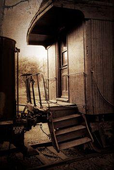 caboose by jrlarimer, via Flickr