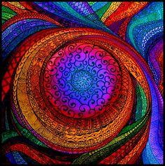 Mandala 2 by Renieri