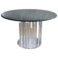 Charles Hollis Jones Lucite Table 2