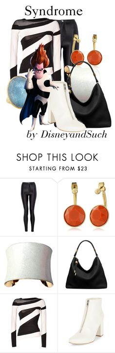 """Syndrome"" by disneyandsuch ❤ liked on Polyvore featuring Quiz, Trina Turk, UNEARTHED, Michael Kors, Donna Karan, New Look, Marco Bicego, disney, disneybound and TheIncredibles"