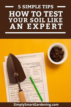 Want to improve your garden soil like an expert even though you're a beginner? Follow my 5 steps. We'll discuss why it's important to get your soil tested by a professional lab. Learn the right way to take soil samples. Discover the 5 things you'll learn