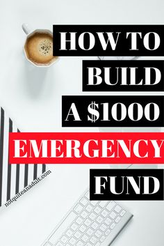 Giving yourself a little cushion is very necessary for financial sanity. Building an emergency fund is a great place to start. If you follow Dave Ramsey you know that a $1000 emergency fund is the first in the baby steps.