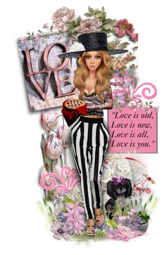 """Love is Old, Love is New..."" by mimi1207 ❤ liked on Polyvore featuring art"