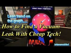 How to Find a Vacuum Leak in about a minute! - YouTube