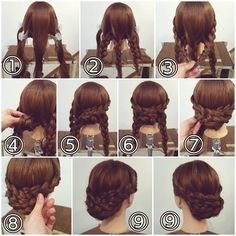 What's the Difference Between a Bun and a Chignon? - How to Do a Chignon Bun – Easy Chignon Hair Tutorial - The Trending Hairstyle Easy Updo Hairstyles, Work Hairstyles, Wedding Hairstyles, Simple Prom Hair, Prom Hair Updo, Short Hair Styles Easy, Hair Trends, Hair Lengths, Hair Inspiration