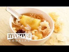 Apple and Snow Fungus Soup « Nyonya Cooking