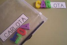 P3: Inbiciem l'escriptura del nom amb lletres mòbils.