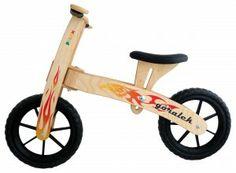 Pilch - Góralek - jeździk dla dzieci - płomienie #eco #fun #eko #zabawki