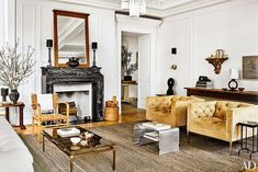 Two (Vastly Different) Celebrity Homes You Need to See | elements of style | Bloglovin'