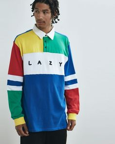 Lazy Oaf All Teams Rugby Jersey - Everything - Categories - Mens