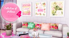 Sims 4 CC's - The Best: Collection of Pillows by Victor Miguell Creations