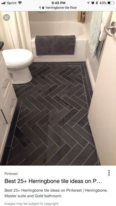 33 black slate bathroom floor tiles ideas and pictures - For the Home - Bathroom Decor Slate Bathroom, Bathroom Floor Tiles, Budget Bathroom, Simple Bathroom, Silver Bathroom, Bathroom Interior, Modern Bathroom, Bathroom Furniture, 1950s Bathroom
