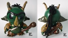 """Gerald the Goblin"" Munny Custom"