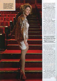 Marília Pêra no editorial produzido por Carlos Henrique Duarte para a revista Caras.