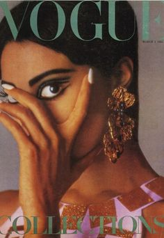 Donyale Luna | first African American model to appear on the cover of British Vogue