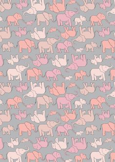 Lewis & Irene Welcome to the World Marching Elephant Family Patchwork Quilting Dressmaking Fabric Small Elephant, Elephant Family, Pink Elephant, Elephant Quilt, Elephant Fabric, Baby Fabric, Cotton Fabric, Dressmaking Fabric, Toddler Quilt