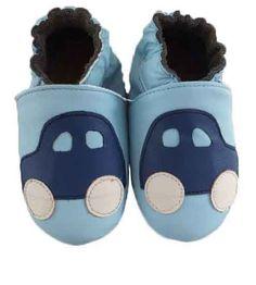 Skinntøfler til baby og barn.  #skinntøfler #baby #barn #baby #leather #shoes