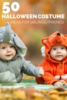 50 Halloween Costume Ideas For Siblings or Friends | Tampa Bay Moms Blog #Laura